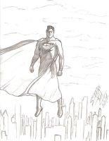 superman protector by tinamin1