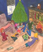Sisters Grimm Christmas Contest Entry by curlscat