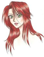 Red Head by FeindFyre