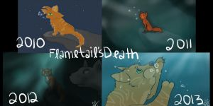 Flametail's Death: Four Years by TheFallenWhisper