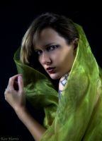 Green Fabric Series by KenHarrisPhoto