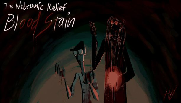 Webcomic Relief - Bloodstain by Toxodentrail