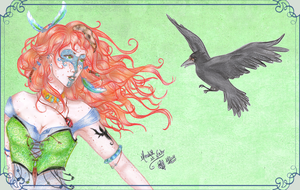 Meredith et Nocto by Songes-et-crayons