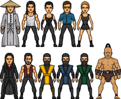 Mortal Kombat: The Movie by MicroManED