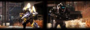 PANORAMA Halo Reach Wallpaper by SpherePhoenix1990