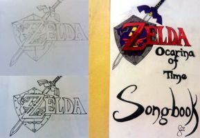 Zelda Songbook Cover by SnowBnny