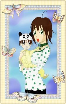 Ani and Daughter by sonani