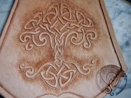 Yggdrasil Bracer by the-warhorse