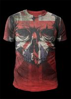 MMA Design - Union Skull Face by Oblivion-design