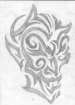 Devil Tattoo by stoned-hippie