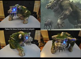 Shadow of the Colossus external hard drive by foxfoxwaltz