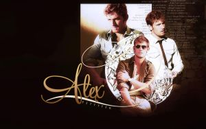 alex pettyfer  wallpaper by mia47