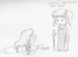 Lucius the Girl by beasert