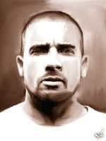 Lincoln Burrows 'D. Purcell' by riowahaab