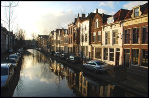Gouda in the light of December by jchanders