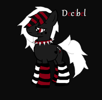 Official MLP OC - Decibel by iPandacakes
