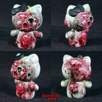 Hel Evil Kitty 1 Zombie by Undead-Art