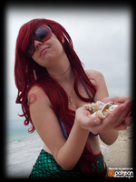 Ariel's Seashell Collection! (Cosplay) by KrazyKari