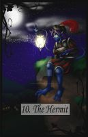 Tarot The Hermit by TheBlindProphetess