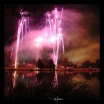 Purple fireworks by kil1k
