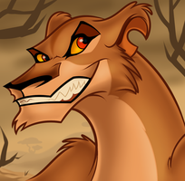 Draw Zira From the Lion King, TLK Tutorial by Dragoart