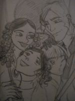 Skywalker family by BlackInkHeart