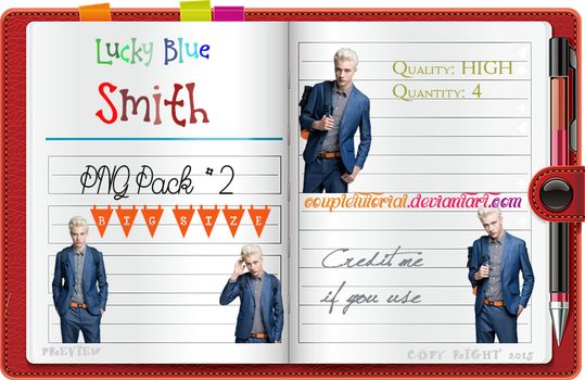 Lucky Blue Smith PNG Pack #2 by CoupleTutorial