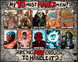 OVERmanly Men Meme by Kaitoraikan