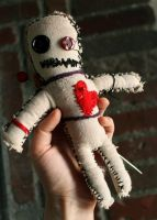 Voodoo Doll Prop by MichellePrebich