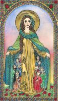Madonna of Mercy by Theophilia