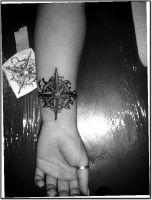 compass by kama-tattoo