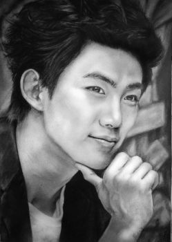 Taecyeon  Drawing by Glitter-Box