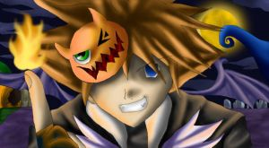 Sora - Happy Halloween by powerswithin