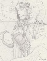HELLBOY (WIP) by FROG-and-TOAD