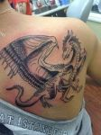 Dragon tattoo by Draculanis