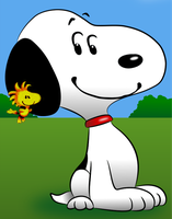 Snoopy And Woodstock  Fanart (Peanuts Movie) by BradSnoopy97