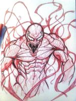 Inktober 9- Carnage by TaooftheRaven