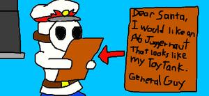 General Guy's Christmas Wish by SurgeCraft