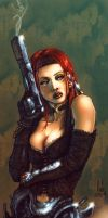 Awesome Durham Red gungirl2 by natelyon