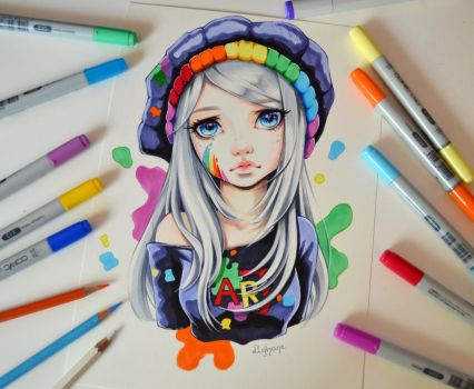 I am Art by Lighane
