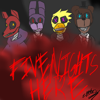 Five nights aT FUCK by Zipperozic