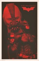 The Dark Knight Rises Japanese 2 by Hartter