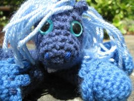 Mini Princess Luna Plushie Amigurumi 6 by RTakeshi