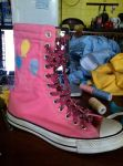 Pinkie Pie Cosplay Shoes by Korra-chan
