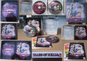 Tales Of Xillia 2 Day One Edition Game Cover by overheat65