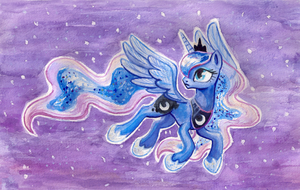 Princess Luna by kaermter