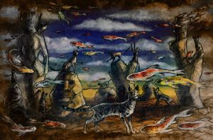 Fish and Cats by iscalox