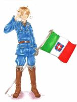APH Italy - Feliciano Vargas - by MissGoldenweekArt