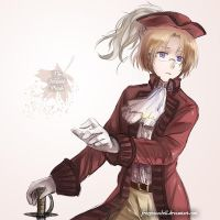 Hetalia- The Invisible Canadian Pirate by FrozenSeashell