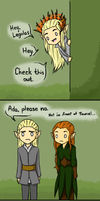 Embarrassing Father Thranduil by pooglegrundolovers